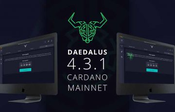 カルダノ公式ウォレット「Daedalus 4.3.1」公開|アップグレードに向けたカウントダウン機能も
