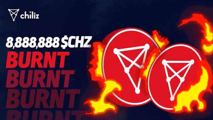 チリーズ(Chiliz)2021年第2四半期に「合計8,888,888CHZ」をバーン