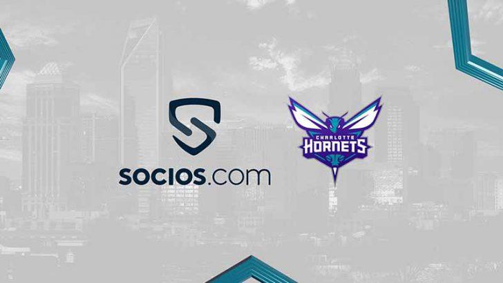 Chiliz&Socios:NBA所属のプロバスケチーム「Charlotte Hornets」と提携