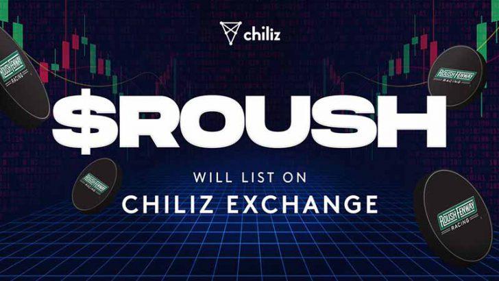 Chiliz Exchange:Roush Fenway Racingの「$ROUSHファントークン」本日取引開始