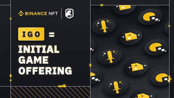 Binance NFT「IGO(イニシャル・ゲーム・オファリング)」を開始|第1弾はDeRace