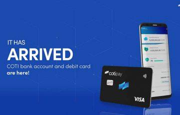 COTI:仮想通貨対応の「銀行口座・Visaデビットカード」提供へ