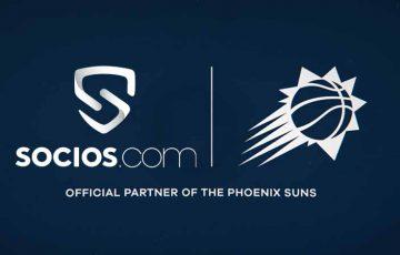 Chiliz&Socios:NBA所属プロバスケチーム「Phoenix Suns」と提携
