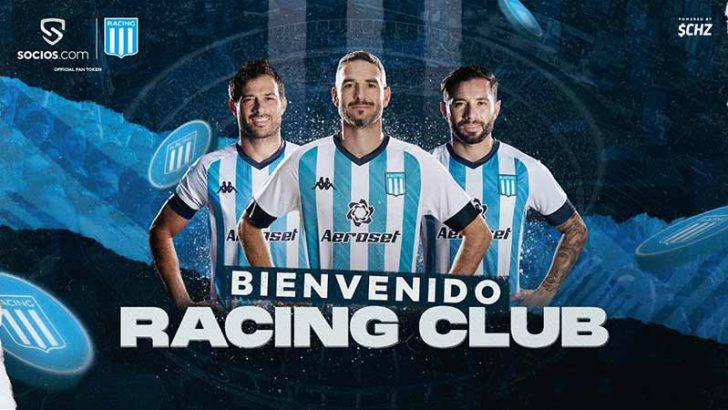 Chiliz&Socios:アルゼンチンの「Racing Club」と提携|$RACINGファントークン発行へ