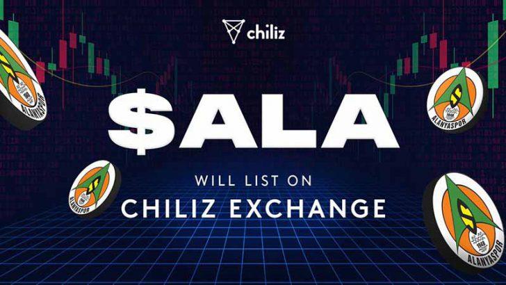 Chiliz Exchange:アランヤスポルの「$ALAファントークン」10月11日から取引開始