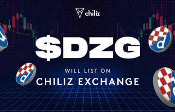 Chiliz Exchange:Dinamo Zagrebの「$DZGファントークン」本日取引開始