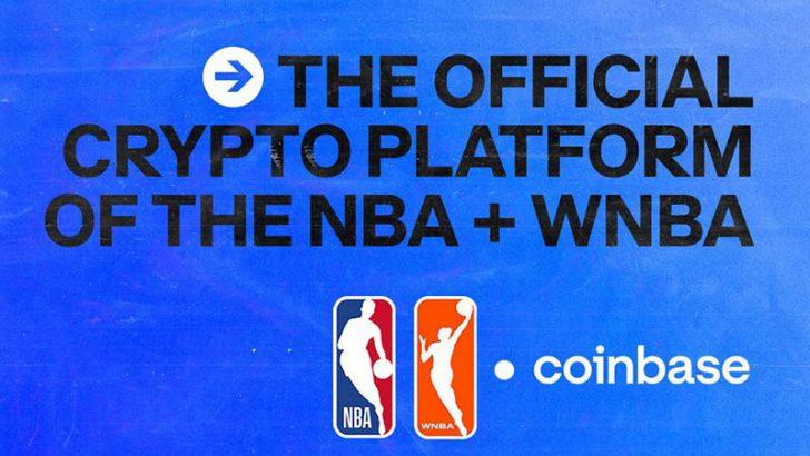 Coinbase:米プロバスケリーグ「NBA・WNBA」と提携|公式仮想通貨パートナーに