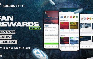 Sociosアプリ「ファン報酬機能」公開|ファントークンがVIPチケット等と交換可能に