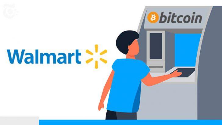 Walmart「200台のビットコインATM」を試験導入|Coinstar端末でBTCの購入が可能に
